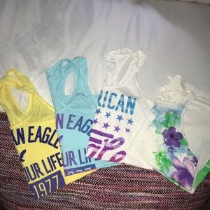 American Eagle Tanks (lots of 4) size S